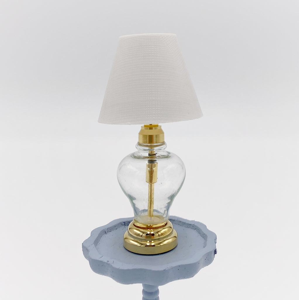 Clear Lamp For Dollhouse - Life In A Dollhouse
