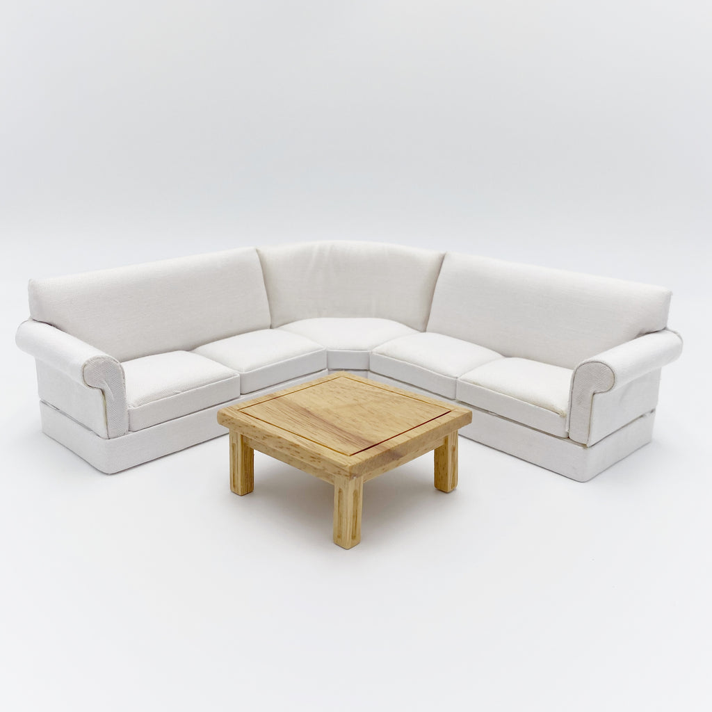 Sectional Sofa For Dollhouse - Life In A Dollhouse