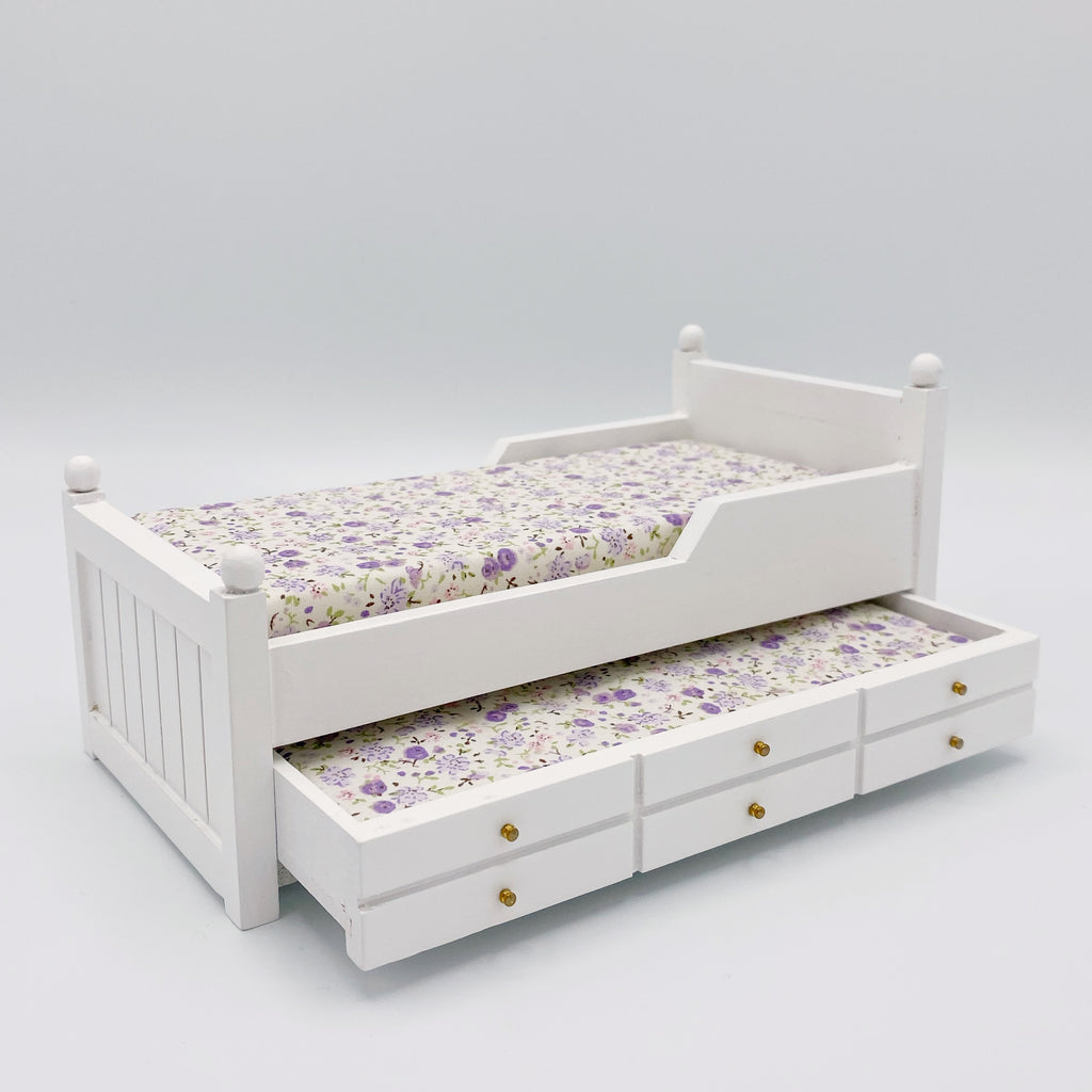 Trundle Bed For Dollhouse - Life In A Dollhouse