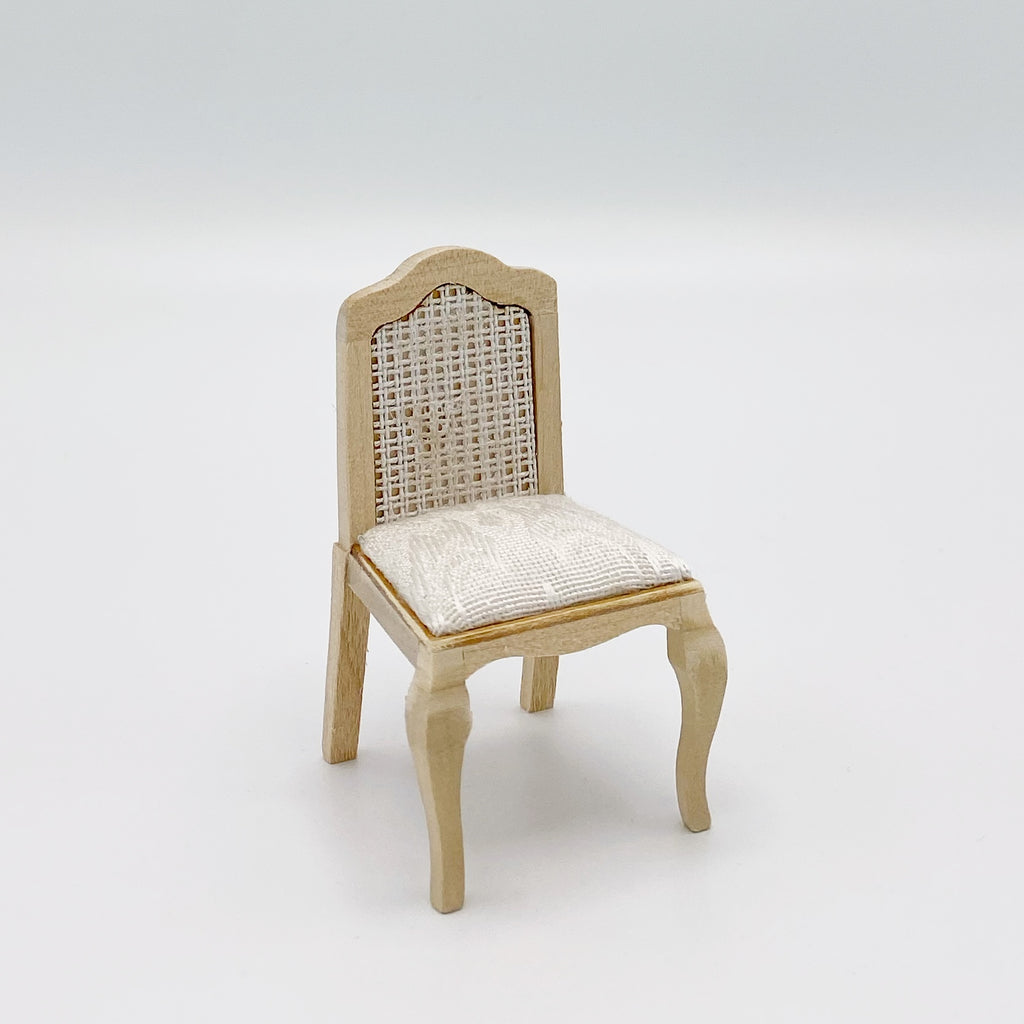 French Style Chair For Dollhouse - Life In A Dollhouse