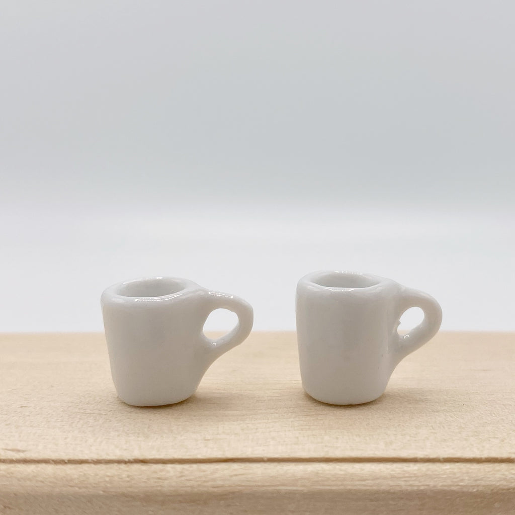 Coffee Mugs for Dollhouse - Life In A Dollhouse