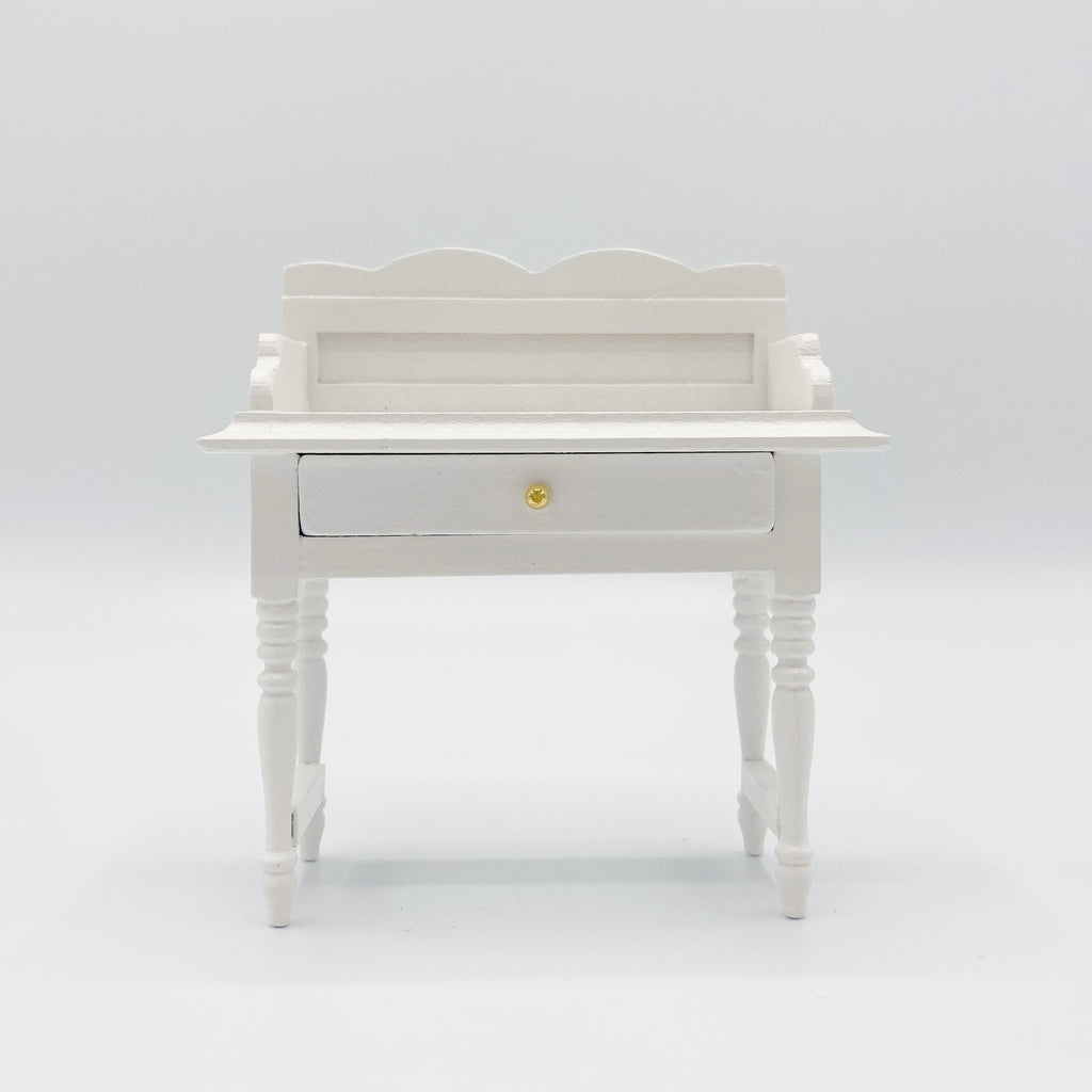 Vanity For Dollhouse in White - Life In A Dollhouse