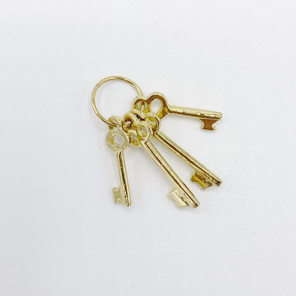 Brass Keys For Dollhouse - Life In A Dollhouse