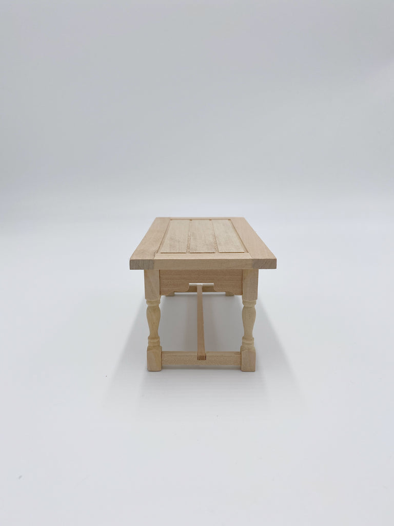 Unfinished Dining Table For Dollhouse - Life In A Dollhouse