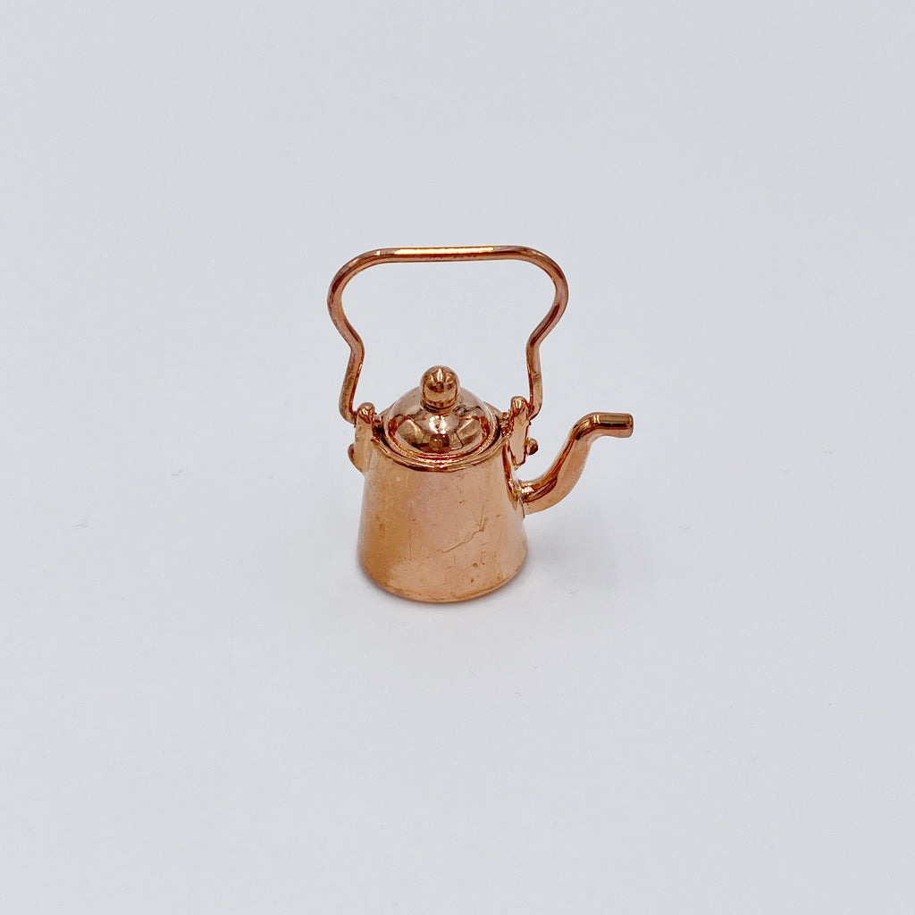 Copper Kettle Pot For Dollhouse - Life In A Dollhouse