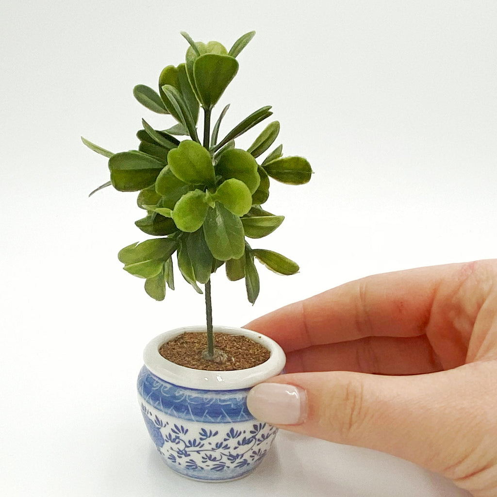 Fiddle Leaf Fig Tree For Dollhouse - Life In A Dollhouse