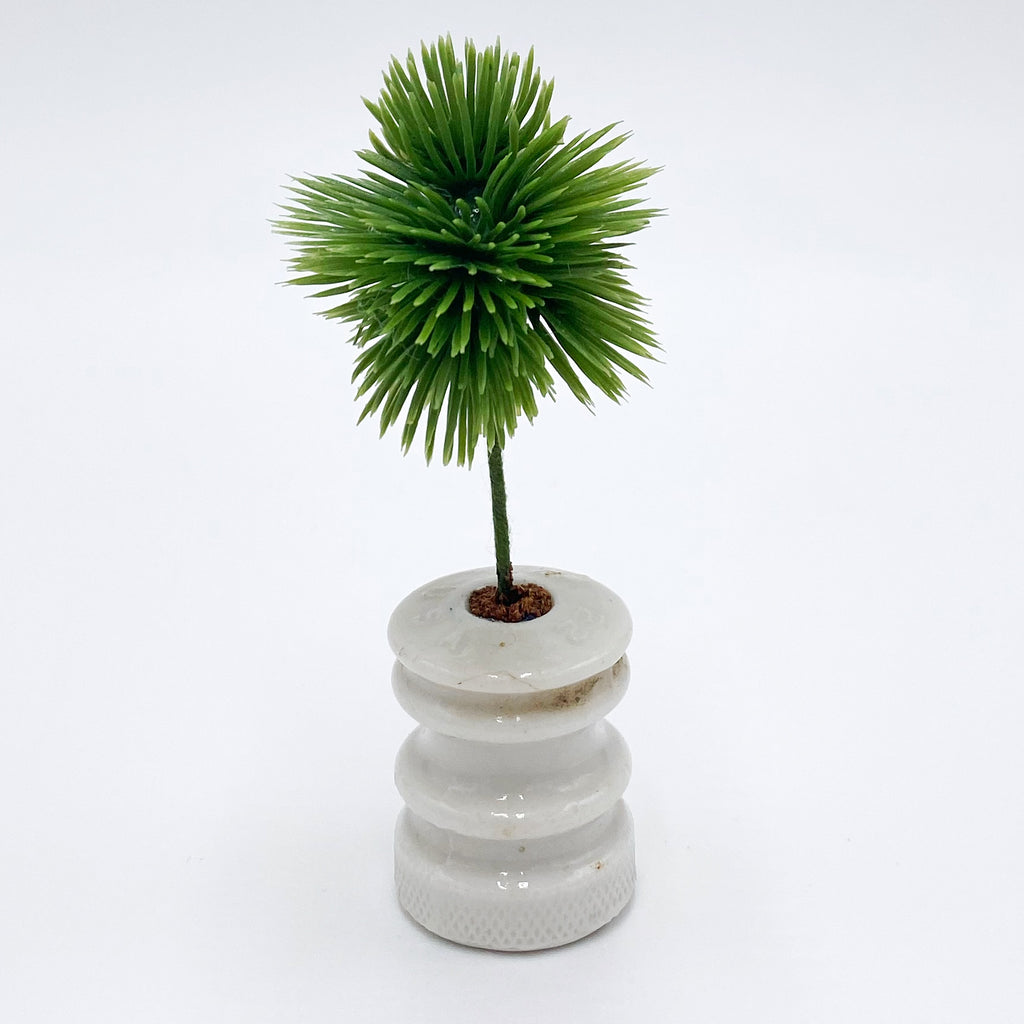 Palm In Vintage Pot For Dollhouse - Life In A Dollhouse