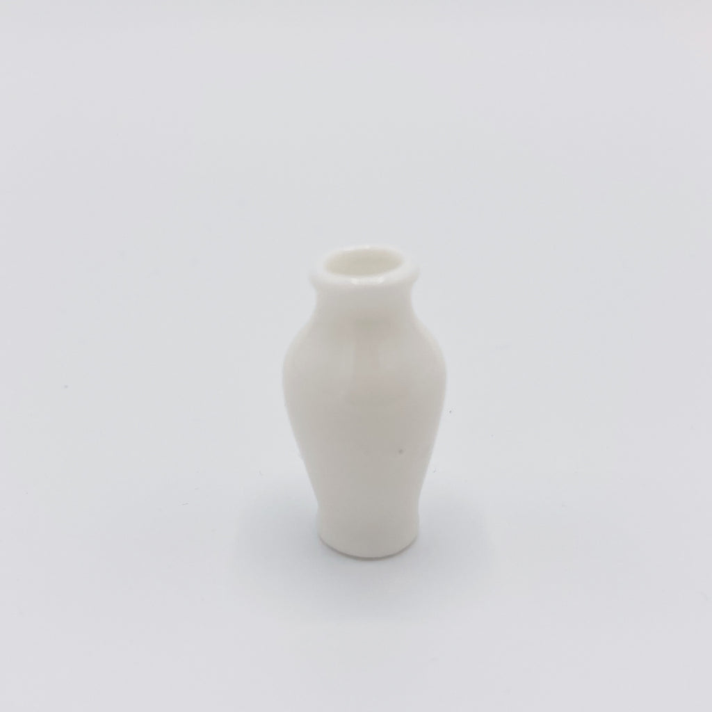 Vase in White for Dollhouse - Life In A Dollhouse