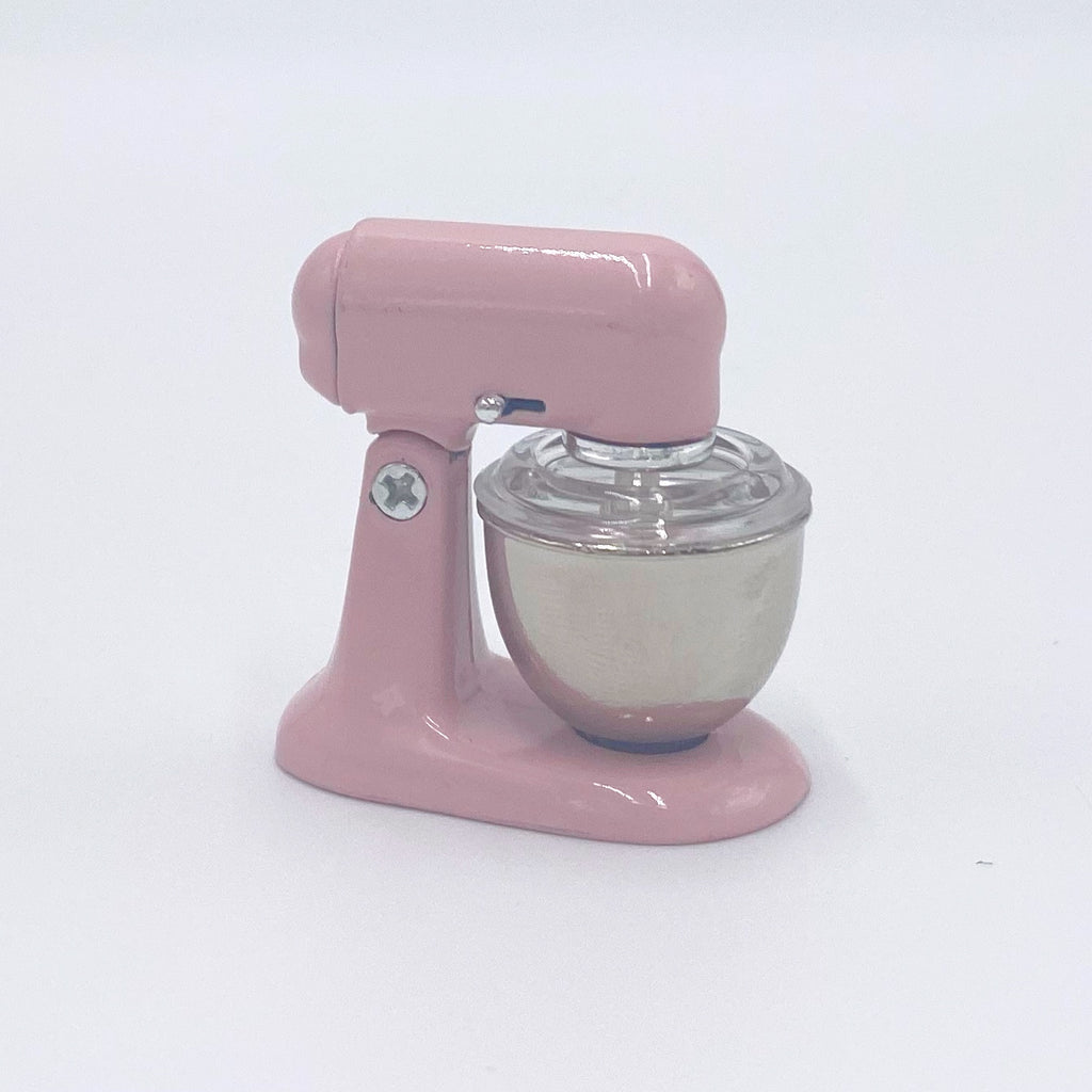 Pink Mixer for Dollhouse - Life In A Dollhouse