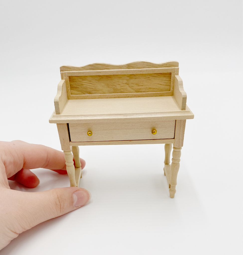 Unfinished Vanity For Dollhouse - Life In A Dollhouse