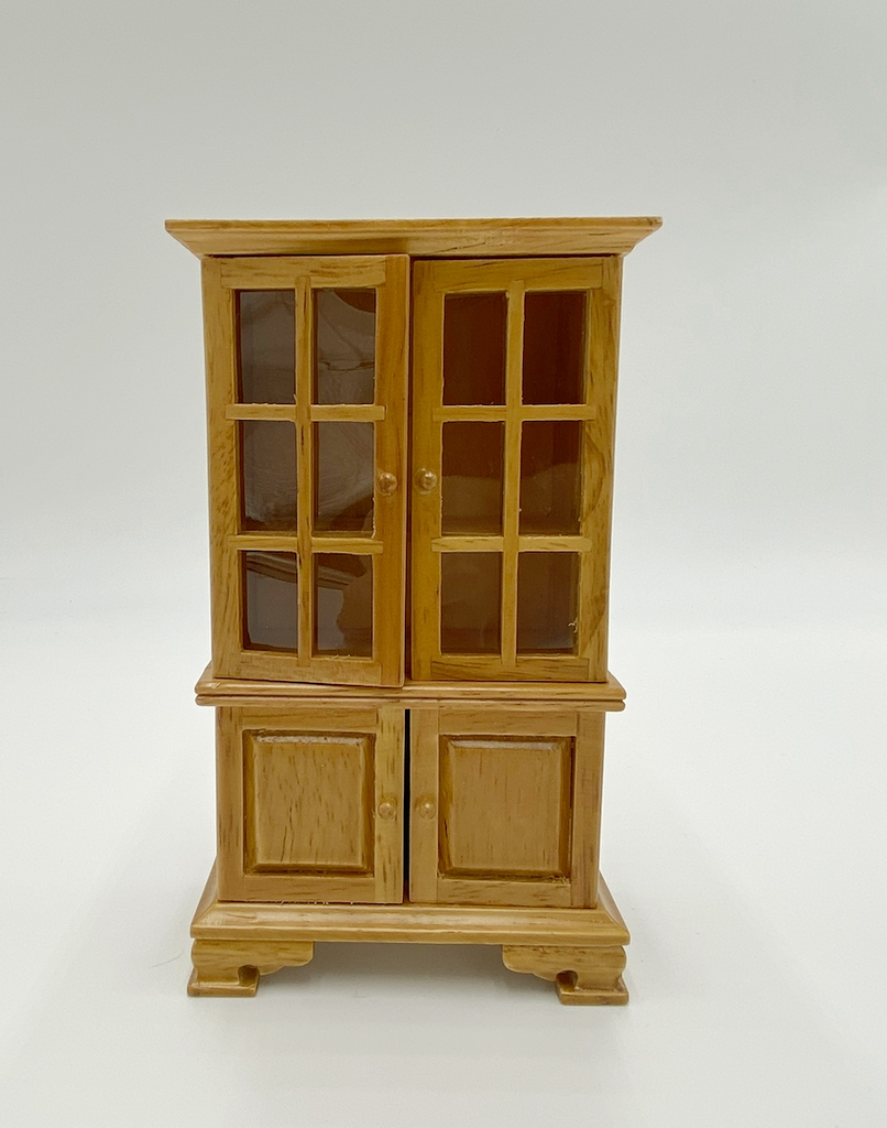 Stained Cabinet For Dollhouse - Life In A Dollhouse