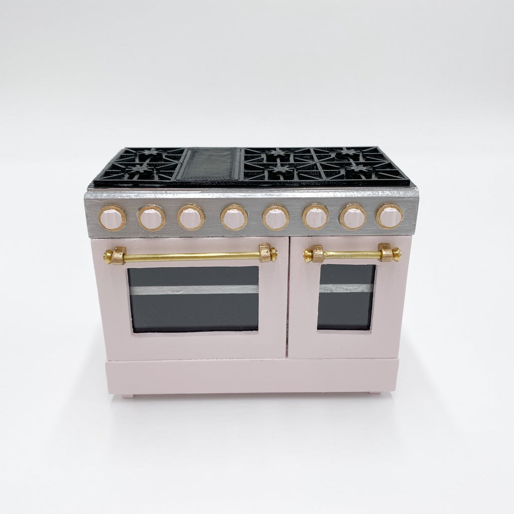 Custom 4'' Dollhouse Range Oven - 1:12 scale by Life In A Dollhouse