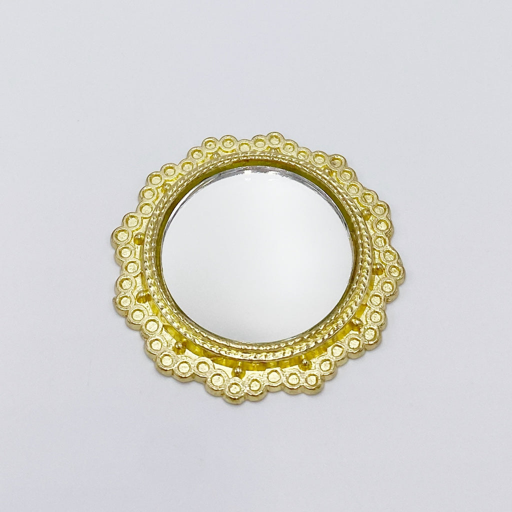 Round Mirror For Dollhouse