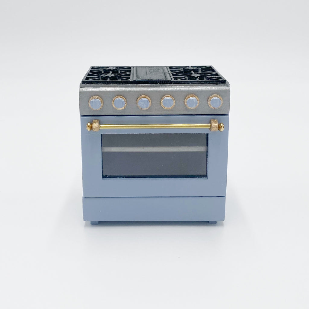 Custom 3'' Dollhouse Range Oven - 1:12 scale by Life In A Dollhouse