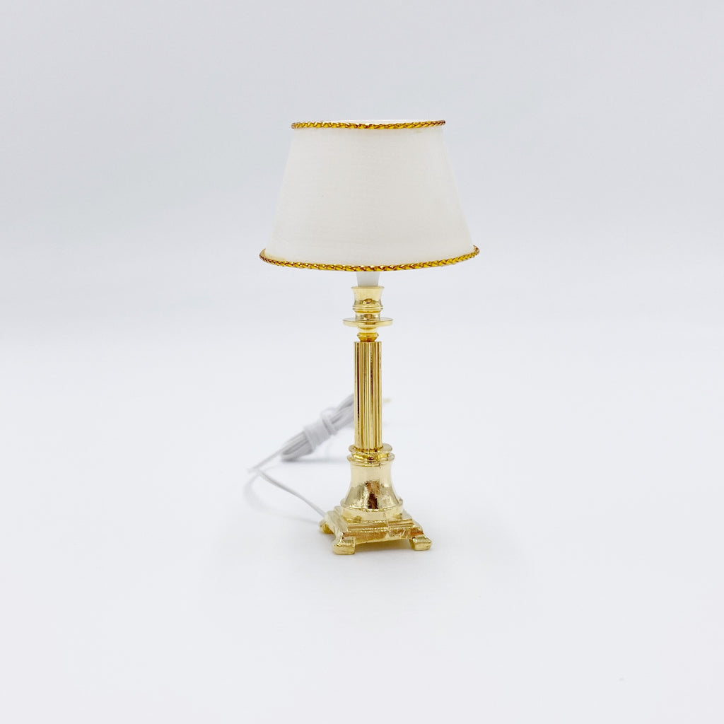 Gold Lamp For Dollhouse - Life In A Dollhouse