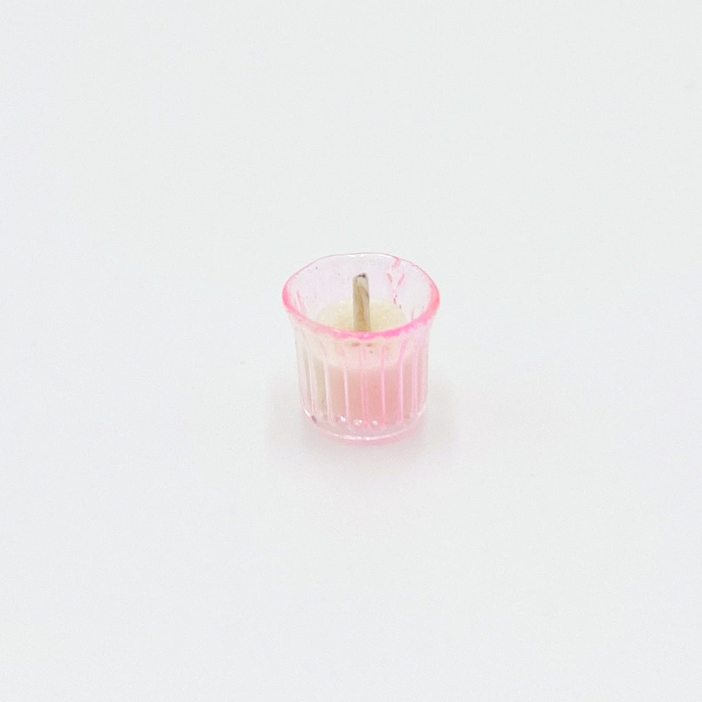 Candle in Jar For Dollhouse