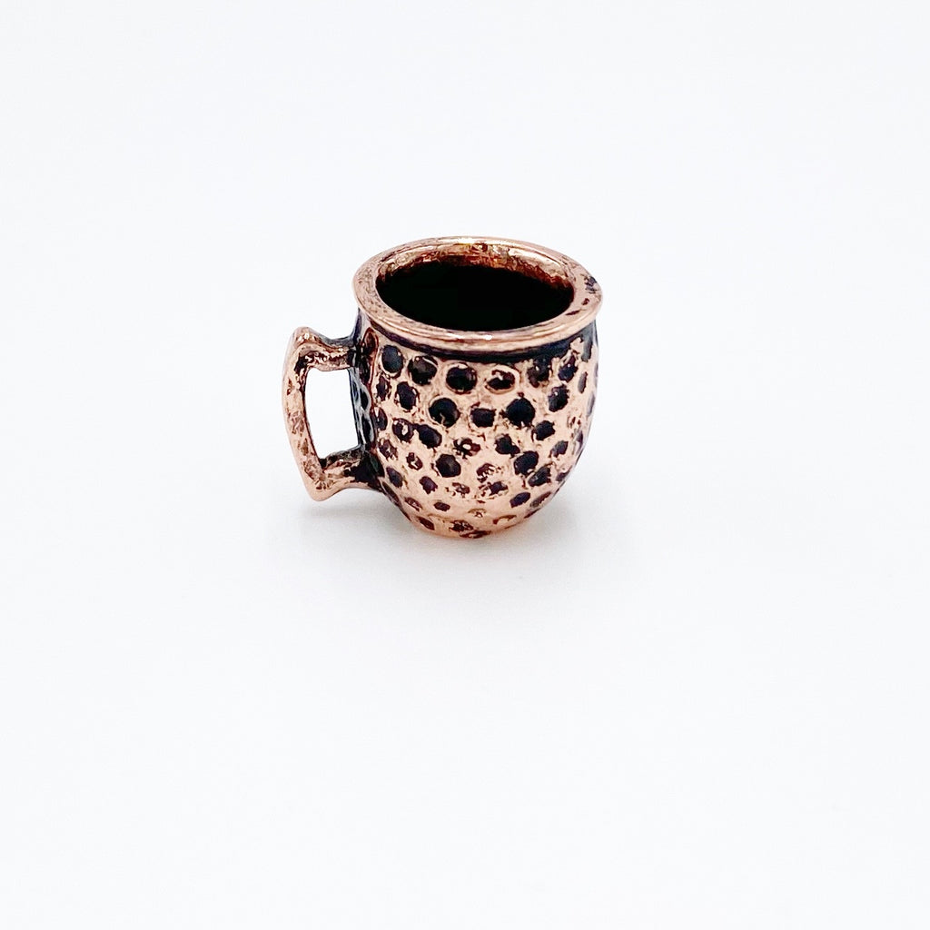 Copper Mug For Dollhouse - Life In A Dollhouse