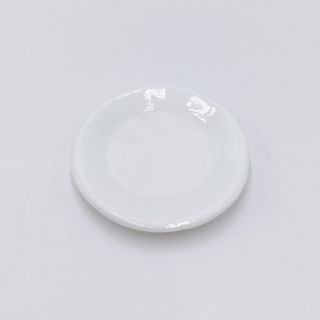 Dinner Plate For Dollhouse - Life In A Dollhouse