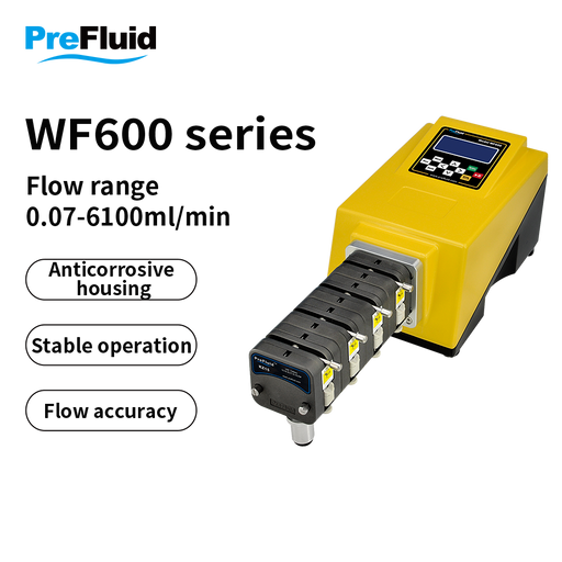 WF600 High flow with accuracy pump