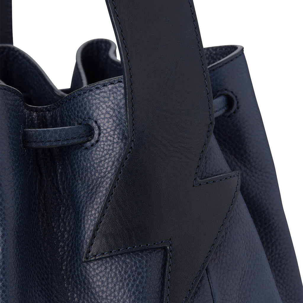 Bucket Bag Navy Blue