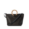 East West Tote Bag Gunmetal Grey