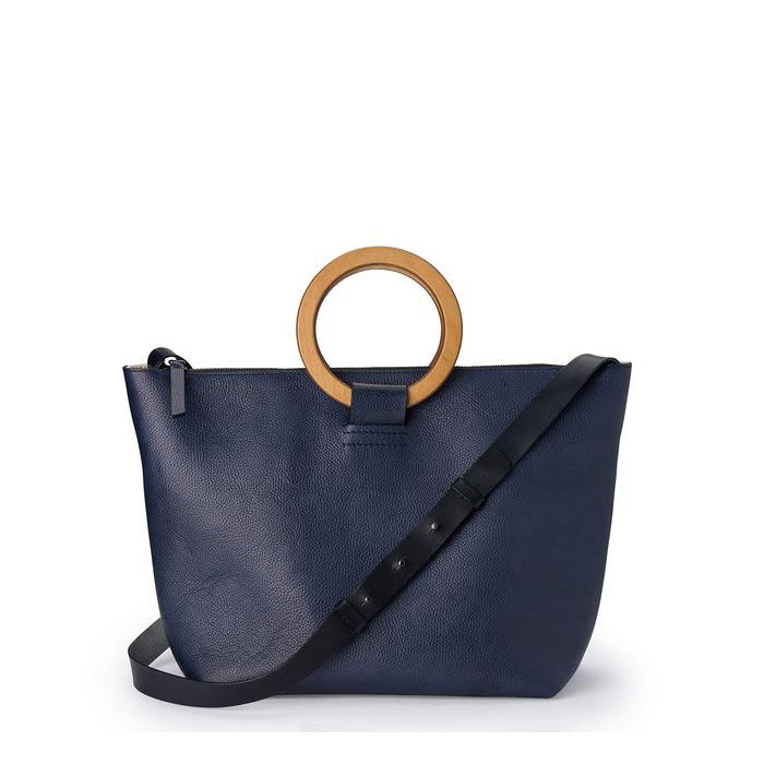 East West Tote Bag Navy Blue