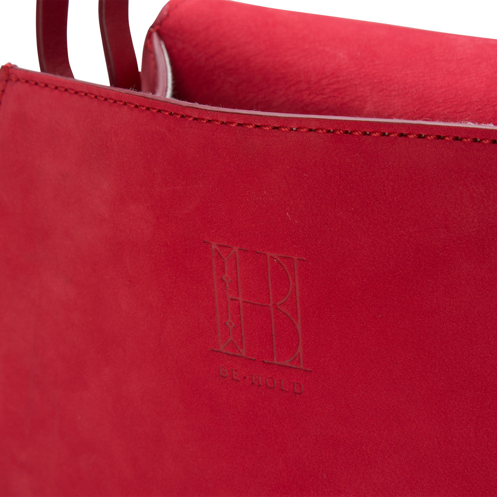 Hex Bag Corallo Red