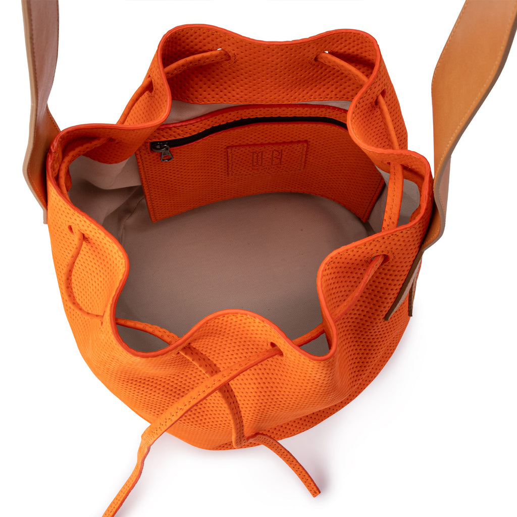 Bucket Bag Tangerine
