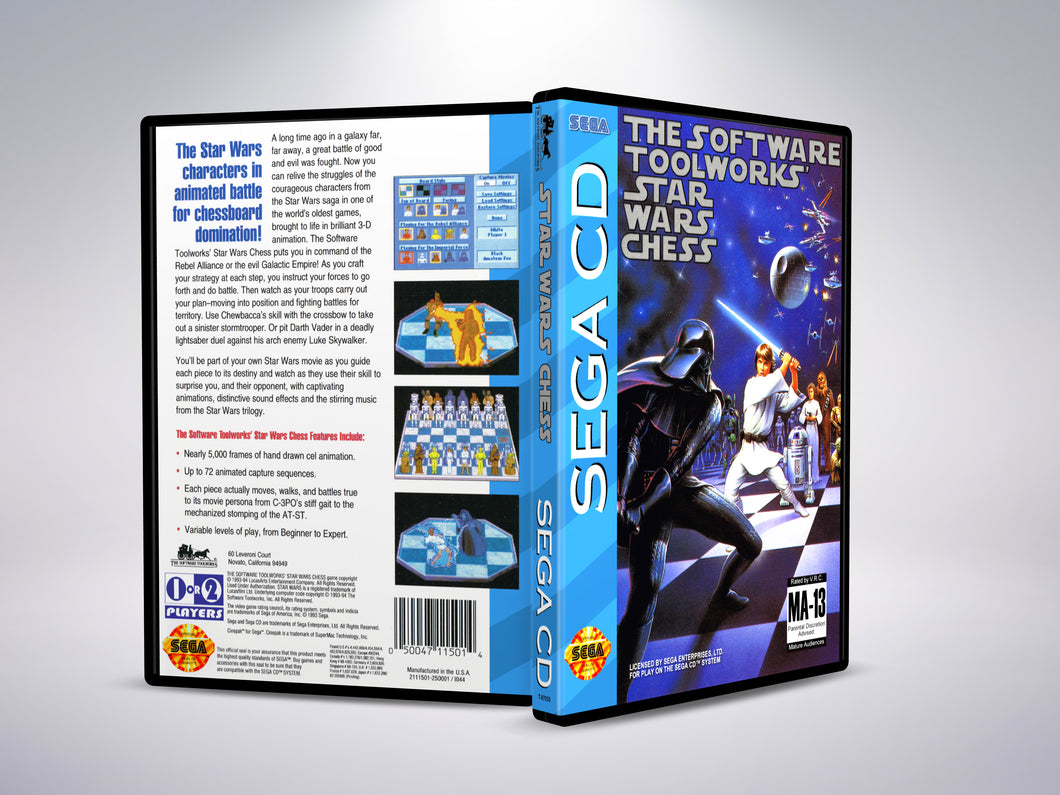 The Software Toolworks Star Wars Chess (Sega CD NTSC-U Version)