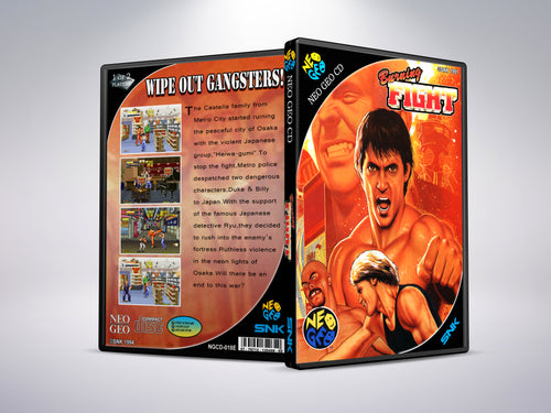 Burning Fight - Neo Geo CD
