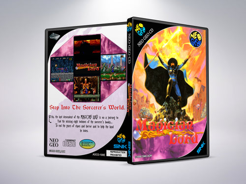 Magician Lord - Neo Geo CD