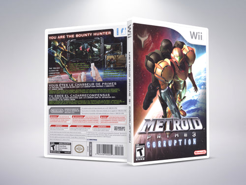 Metroid Prime 3: Corruption - Nintendo Wii