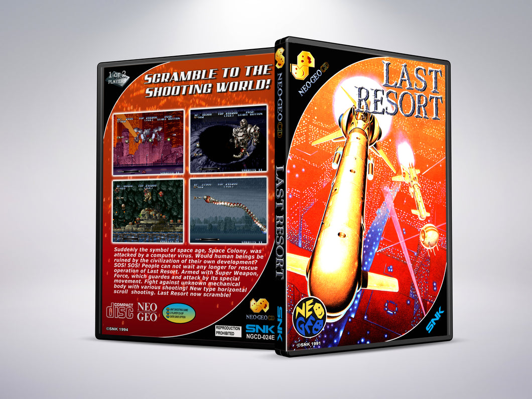 Last Resort - Neo Geo CD