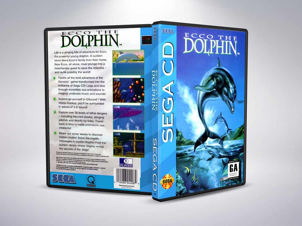 Ecco the Dolphin (Sega CD NTSC-U Version)