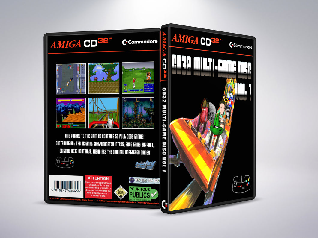 Amiga CD32 Multi Game Disc Vol 1
