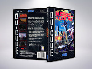 Star Wars Rebel Assault (Mega CD PAL Version)