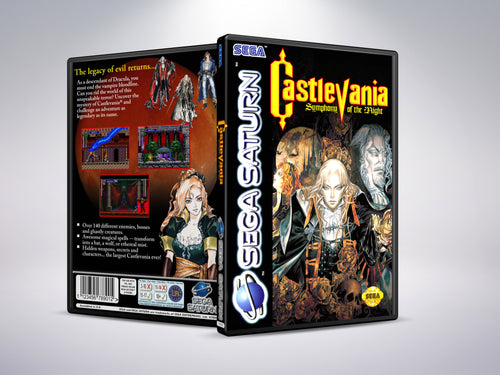 Castlevania: Symphony of the Night (Dracula X) PAL Style