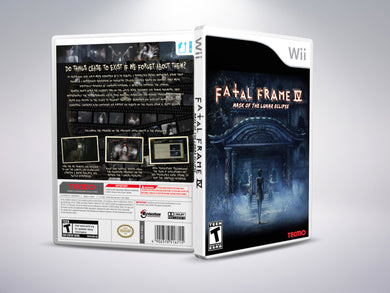 Fatal Frame 4: Mark of the Lunar Eclipse (English) - Nintendo Wii
