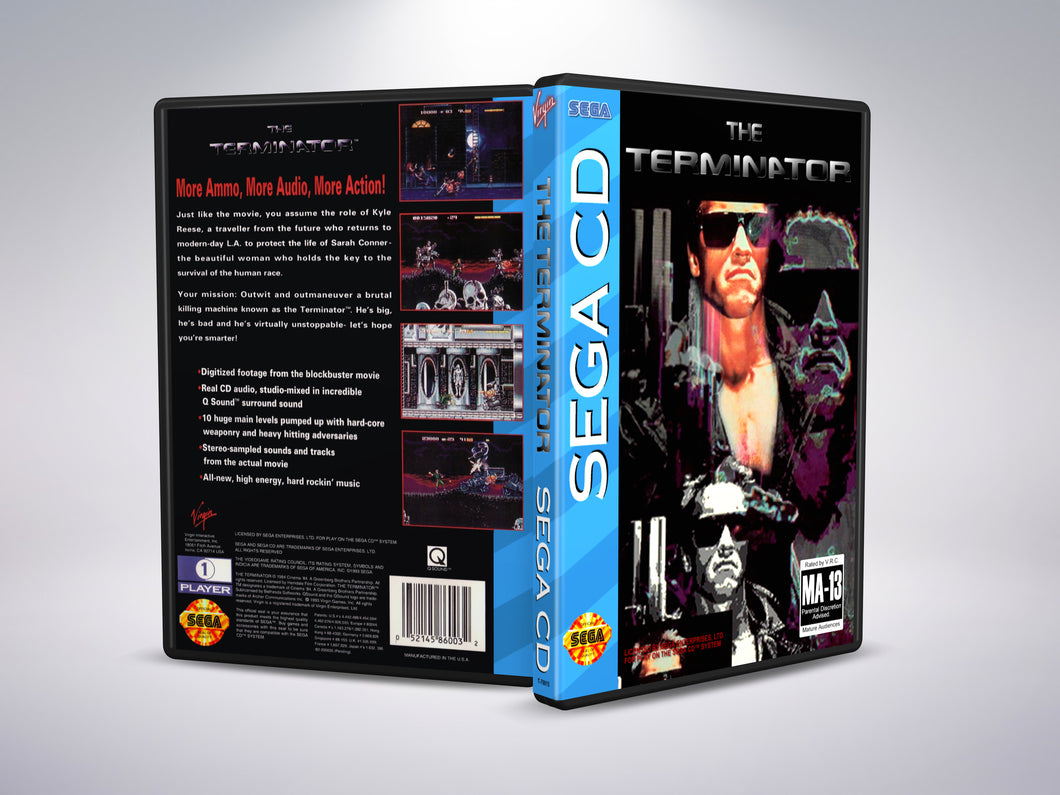 The Terminator (Sega CD NTSC-U Version)
