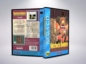 Sherlock Holmes Consulting Detective Vol 1 (Sega CD NTSC-U Version)