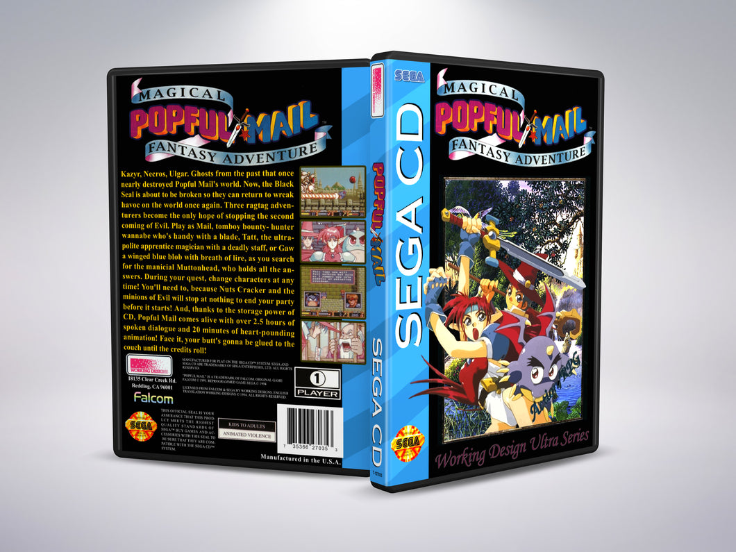 Popful Mail (Sega CD NTSC-U Version)