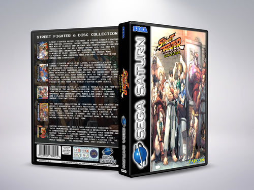 Street Fighter 6 Disc Collection (Sega Saturn)