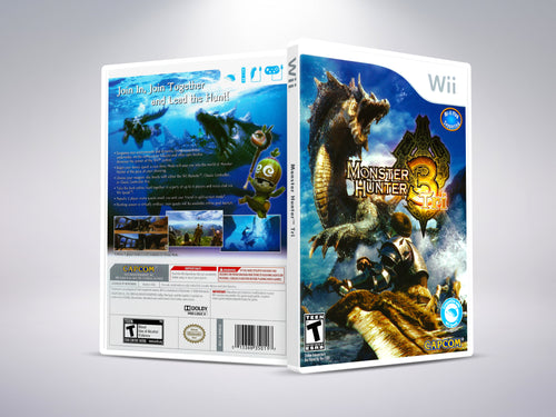 Monster Hunter Tri - Nintendo Wii