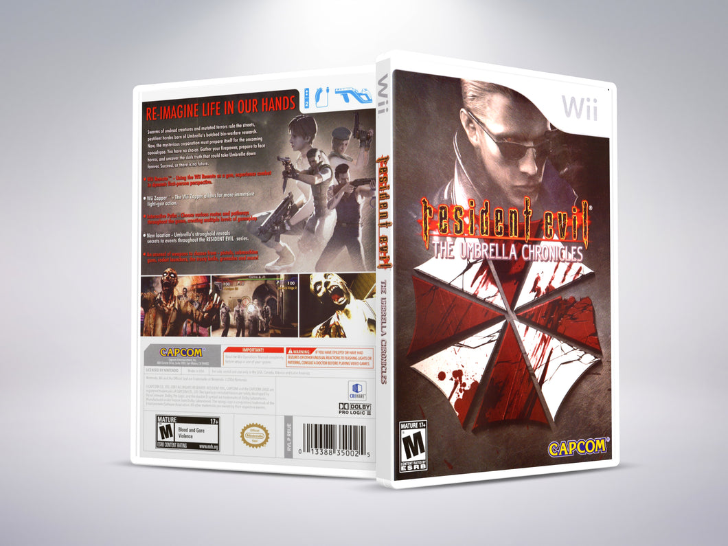 Resident Evil: The Umbrella Chronicles - Nintendo Wii