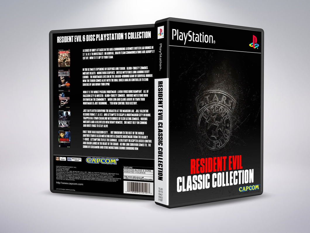 Resident Evil Classic Collection (6 Discs)