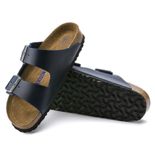 Load image into Gallery viewer, Birkenstock Arizona Blue Leather
