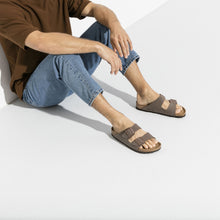 Load image into Gallery viewer, Birkenstock Arizona Birko-Flor Nubuck Mocha
