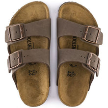Load image into Gallery viewer, Birkenstock Arizona Birko-Flor Nubuck Mocha Kids