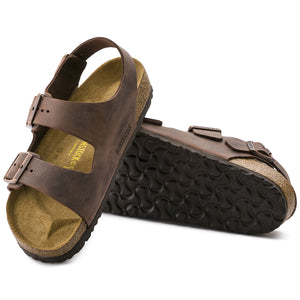 Birkenstock Milano Habana Leather