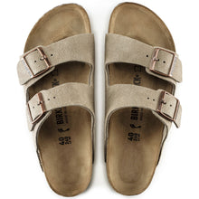 Load image into Gallery viewer, Birkenstock Arizona Suede Leather Taupe